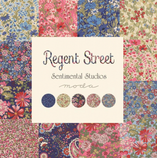 Regent Street Lawns - Moda Fabric